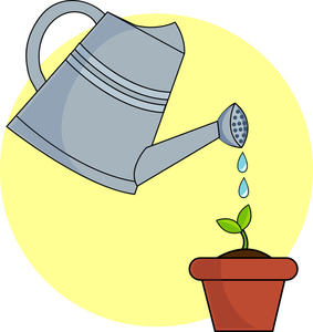 283x300 Free Growing Clipart Image 0515 1103 2603 0703 Garden Clipart