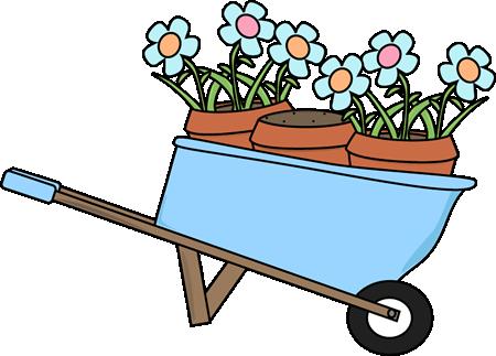 450x323 Garden Clipart Wheelbarrow