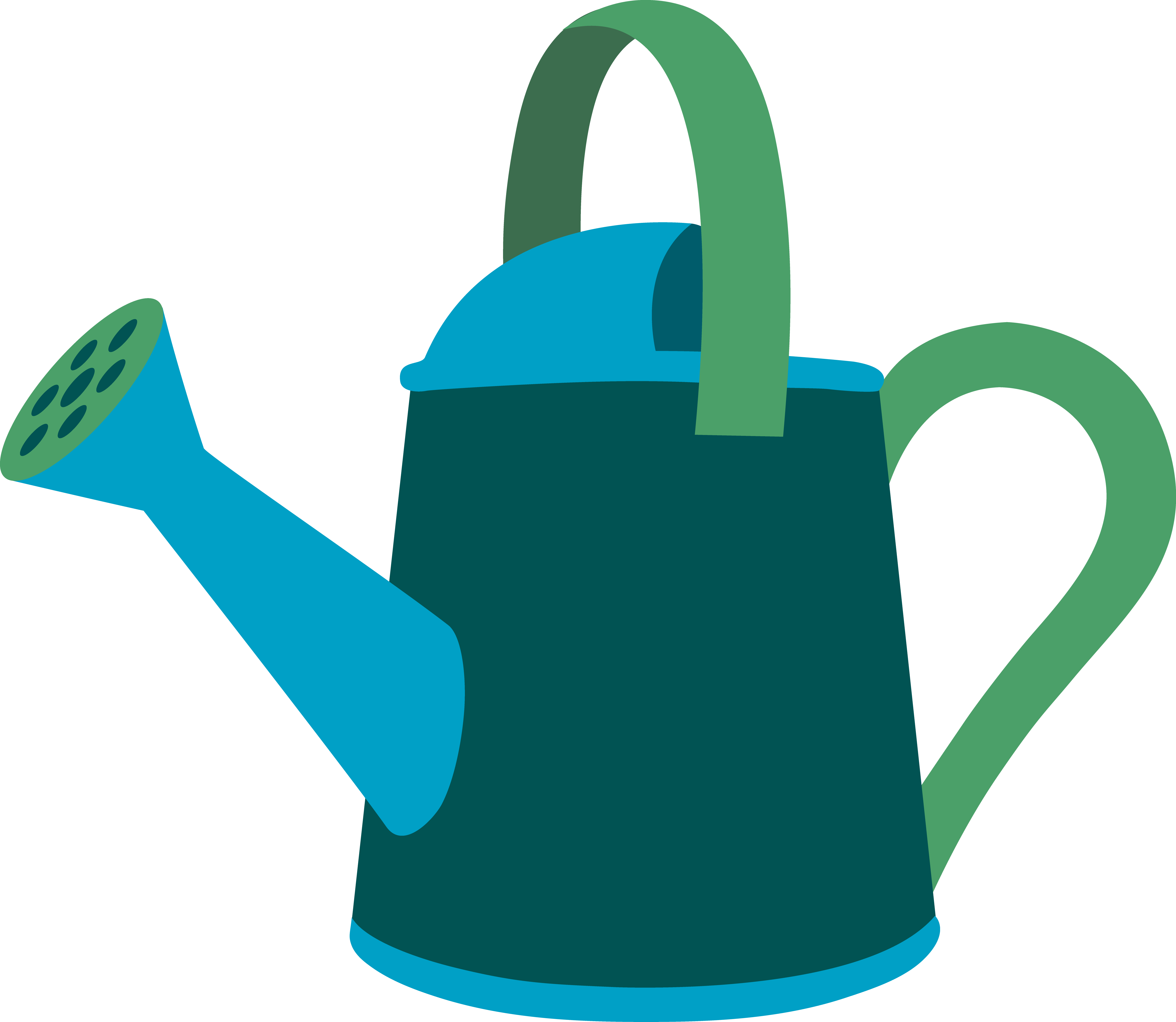 5578x4847 Best Watering Can Clipart