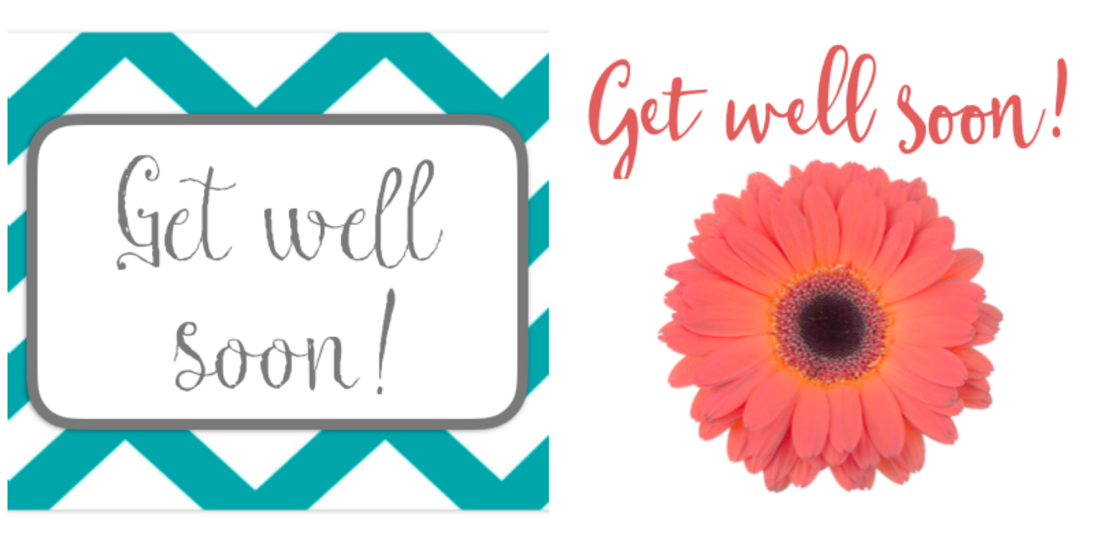 It is a graphic of Gargantuan Get Well Card Printable