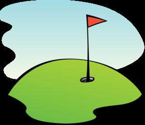299x258 Golf Green Clip Art