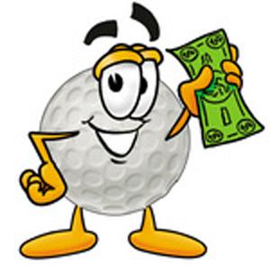 300x296 Golf Ball Clip Art Free Clipart Images