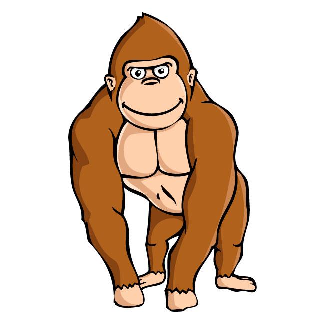 650x650 Top 86 Gorilla Clip Art