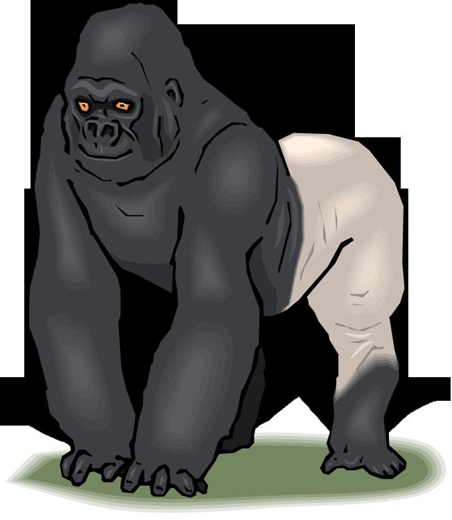 652x750 Top 86 Gorilla Clip Art