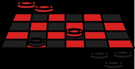 450x230 Checker Game Clip Art