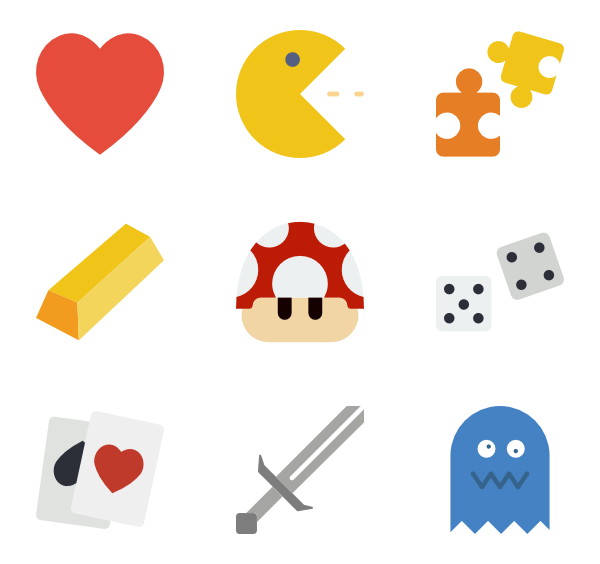 600x564 196 Game Icon Packs