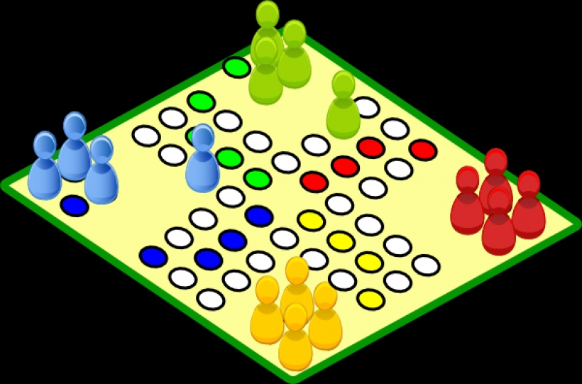 820x541 Clovece Nezlob Se Board Game Clip Art