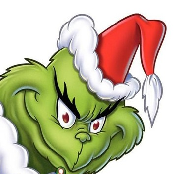 356x355 Grinch Face Clipart