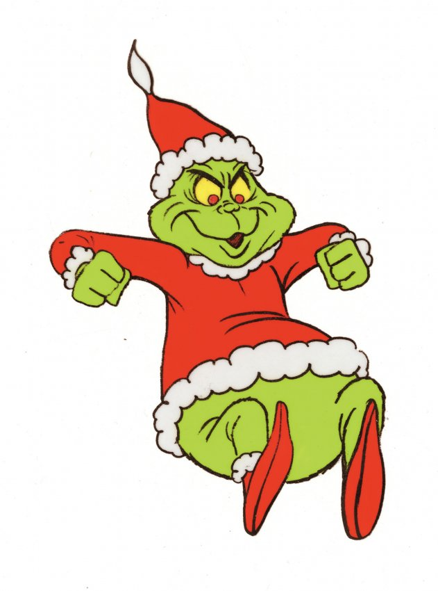 631x850 95 How The Grinch Stole Christmas Prod Cel Amp Drawing Lot 95