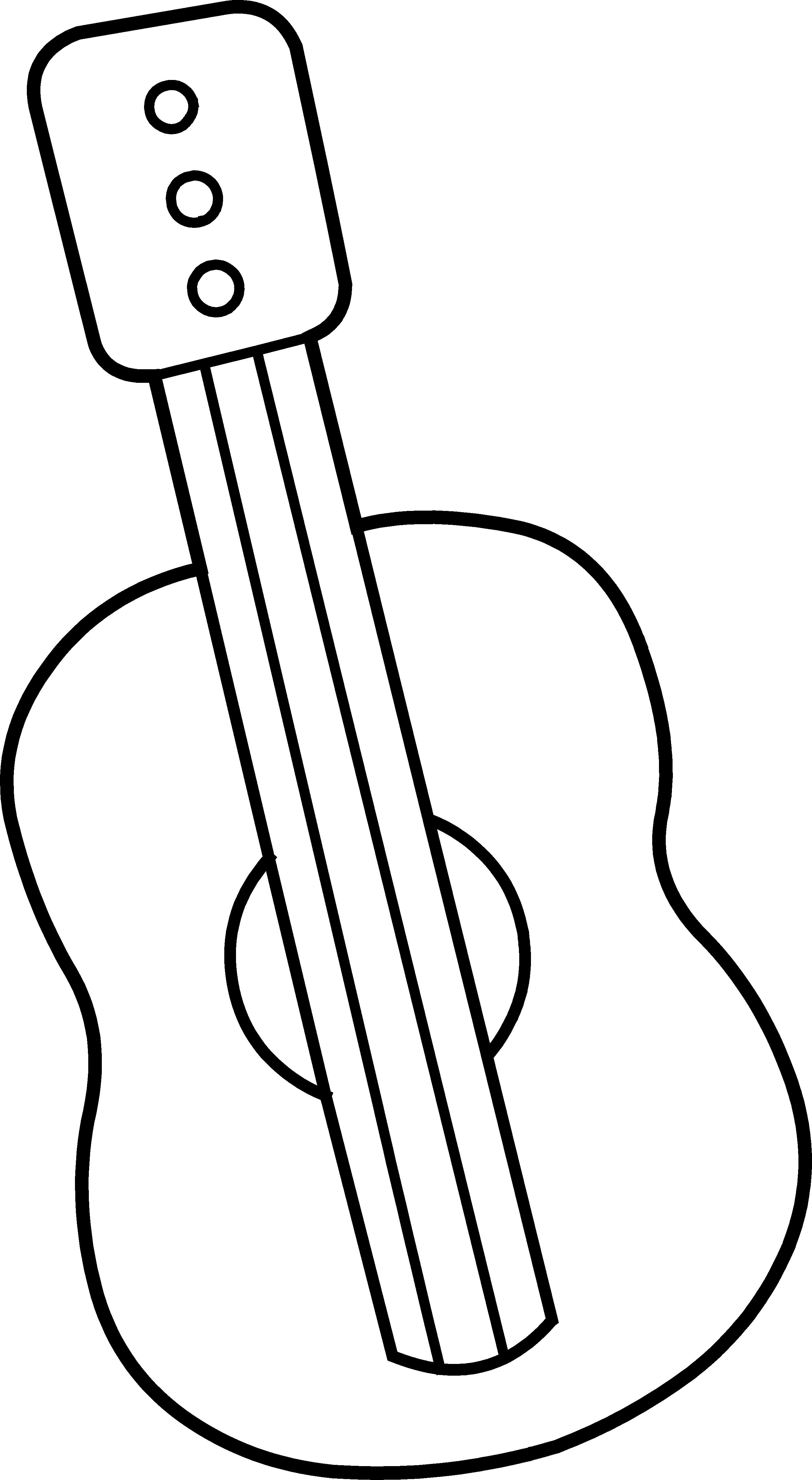 2632x4794 Guitar Clip Art Royalty Free Clipart Panda
