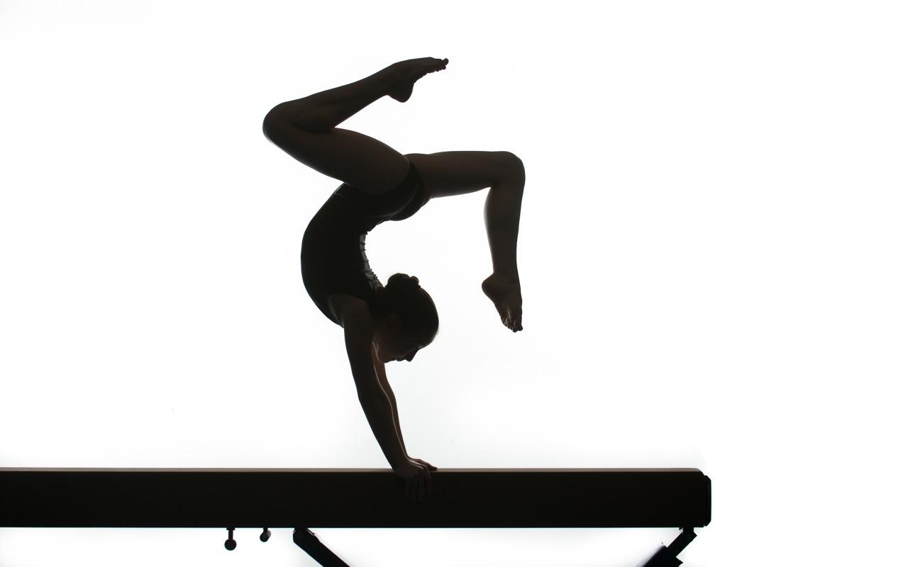 1280x800 Gymnast Silhouette Leap Clipart Panda