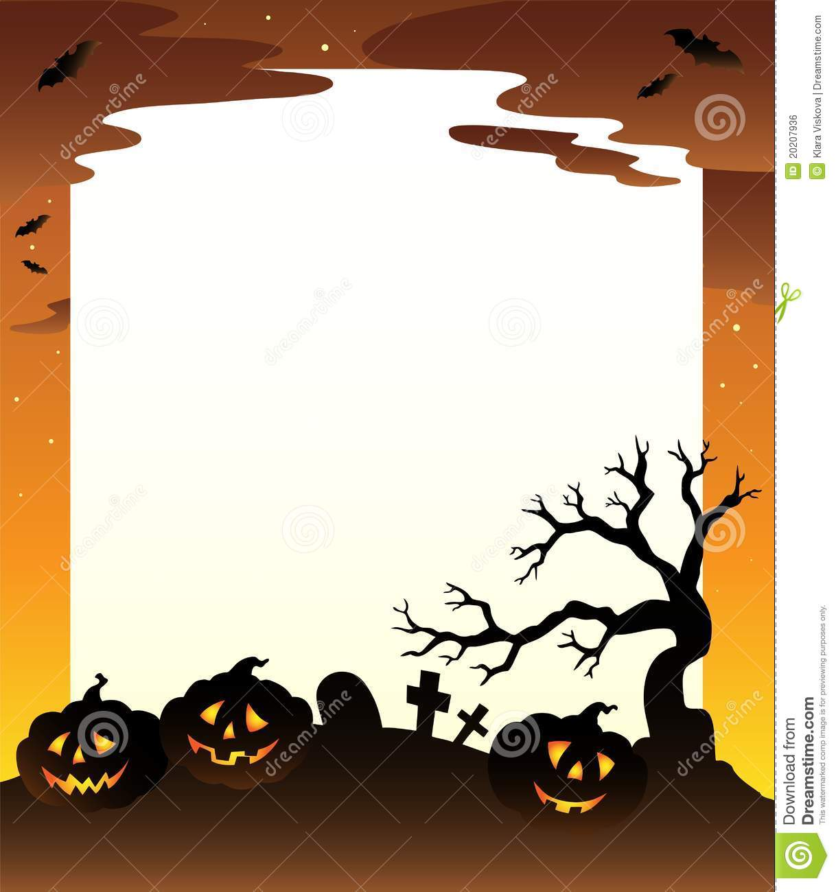 1218x1300 Cute Halloween Border Frame Free Clip Art For Halloween Picture