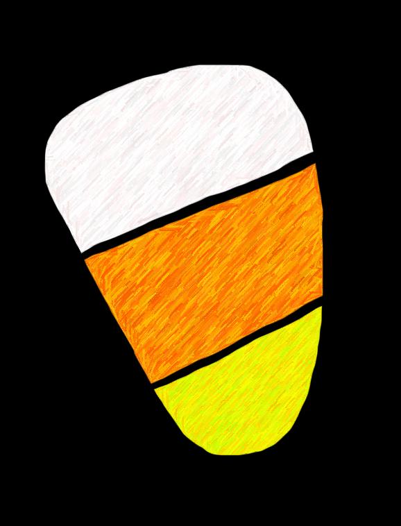 578x758 Candy Corn Clip Art Clipart Clipartcow