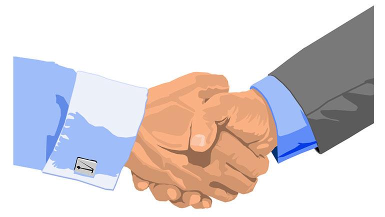 770x434 Free Handshake Clipart Image