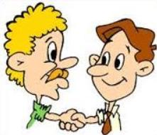 221x191 Free Handshake Clipart