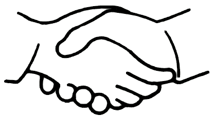 416x228 Handshake Clipart Free Clipart Images