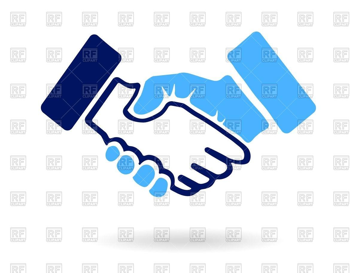 1200x912 Handshake Icon Royalty Free Vector Clip Art Image