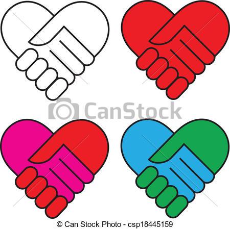 450x449 Heart Handshake Clipart, Explore Pictures