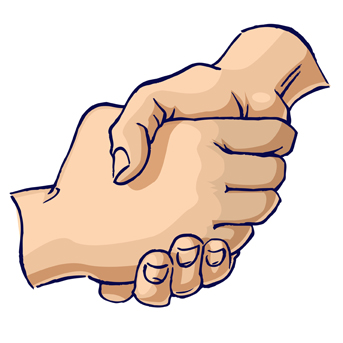 343x343 Pictures Of Handshakes Free Download Clip Art