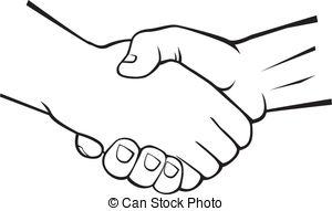 300x191 Shaking Hands Handshake Clipart Image