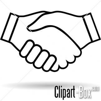 324x324 White Clipart Handshake