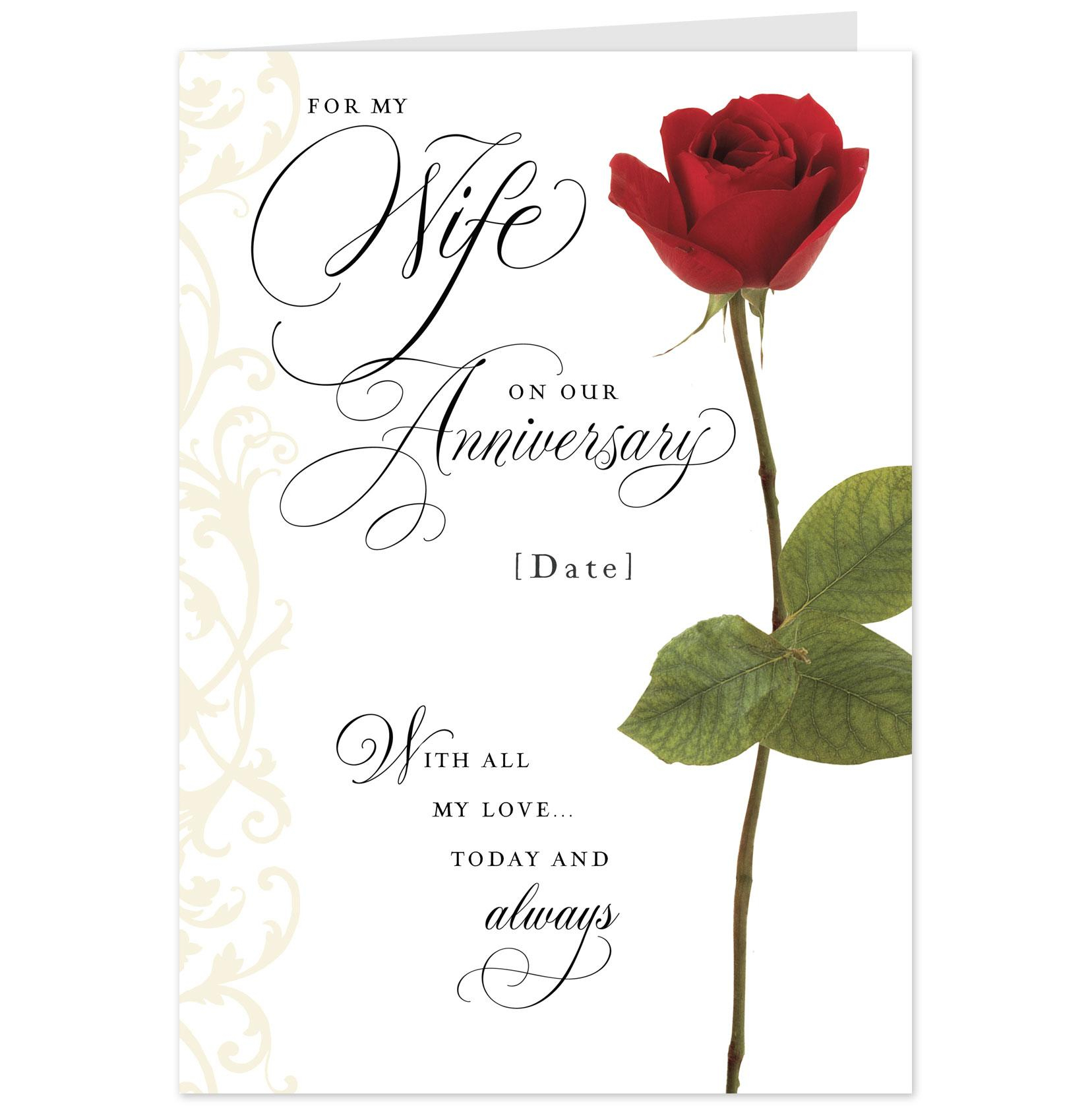 1656x1680 Wedding Anniversary Cards For Wife Free Wedding O