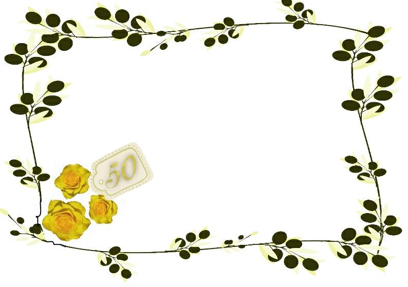 794x559 50th Anniversary Clipart Free
