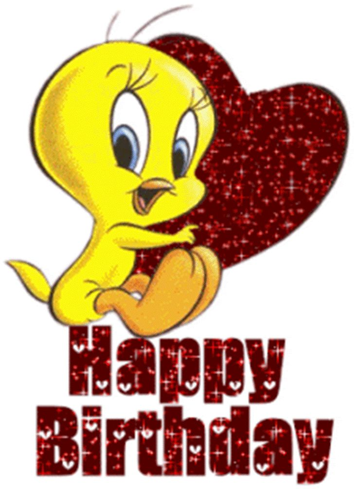 736x1005 Red Happy Birthday Clipart