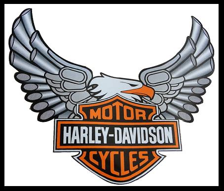 454x387 Harley Davidson On Harley Davidson Logo Motorcycles Clip Art Image
