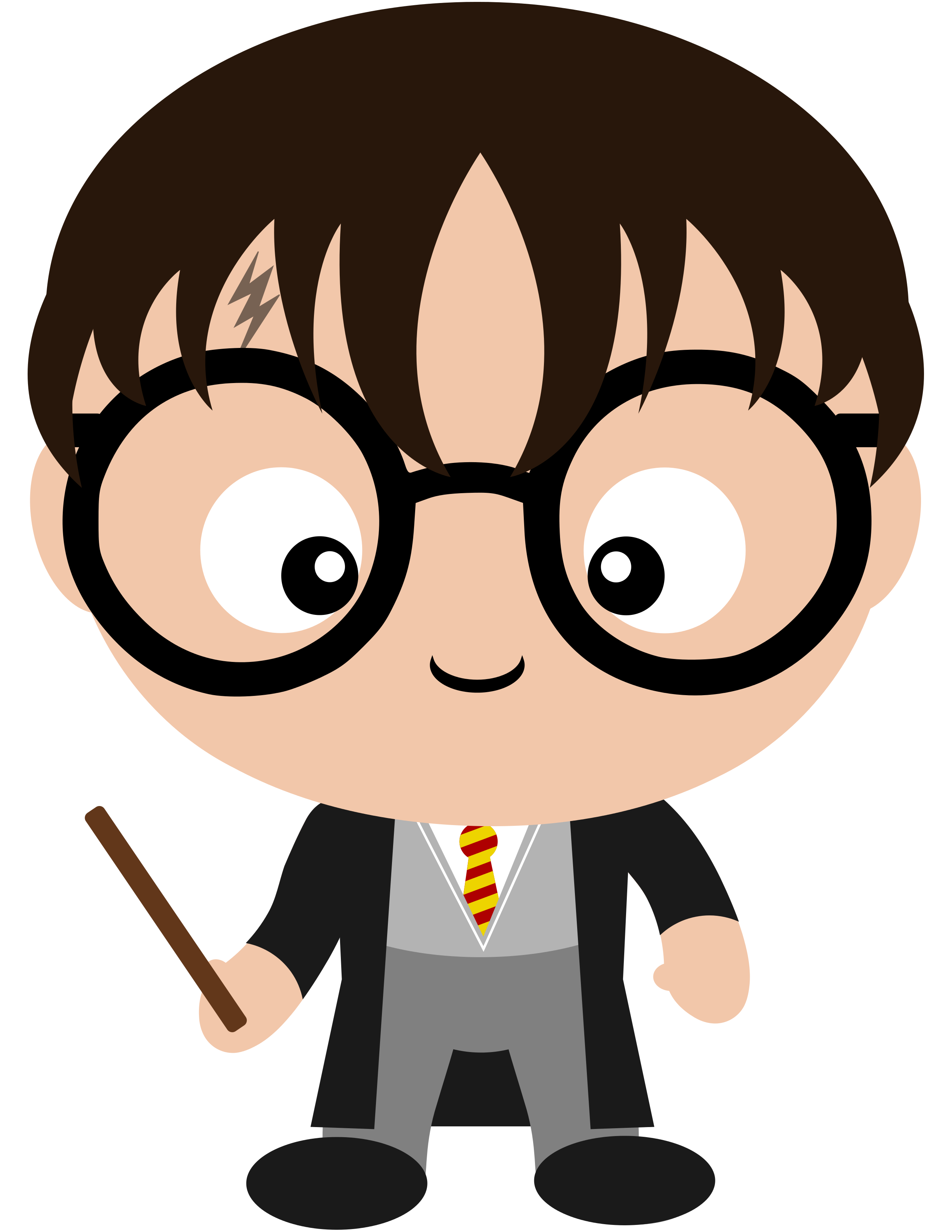 2550x3300 harry potter head clipart collection
