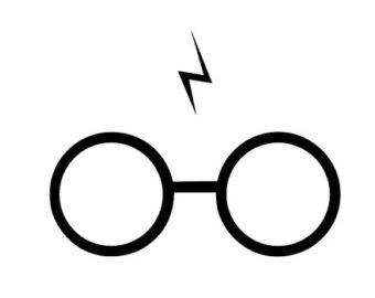 340x270 Harry Potter Lightning Bolt Clipart Clipartfest