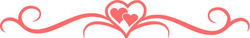 850x132 Free Valentine Borders Clipart