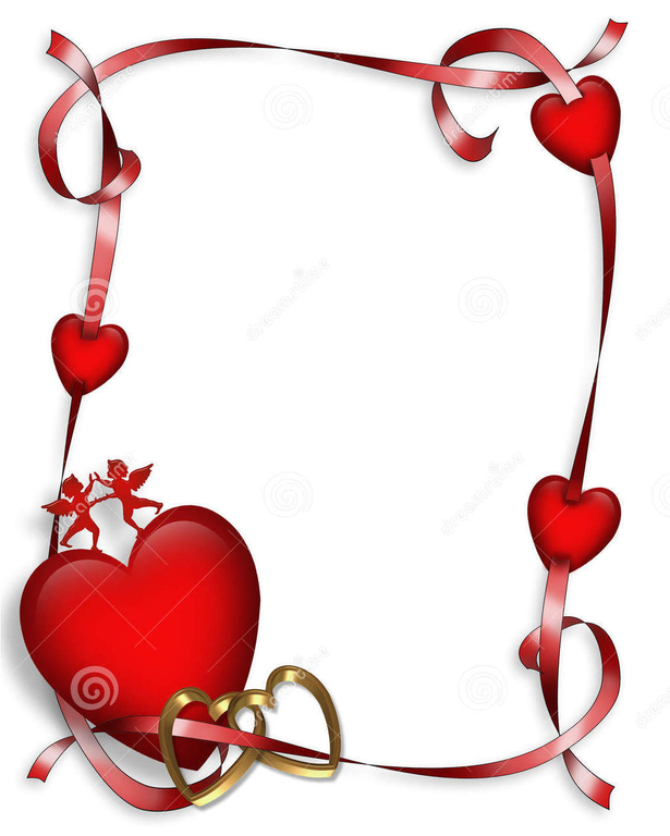 615x768 Free Clipart And Borders For Valentine