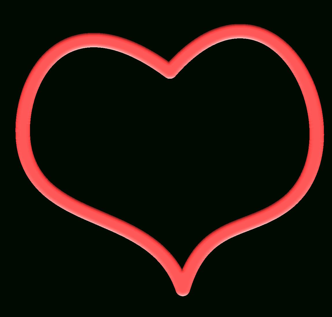 1150x1100 Heart Border Clipart Transparent Letters