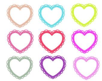 340x270 Love Border Clip Art