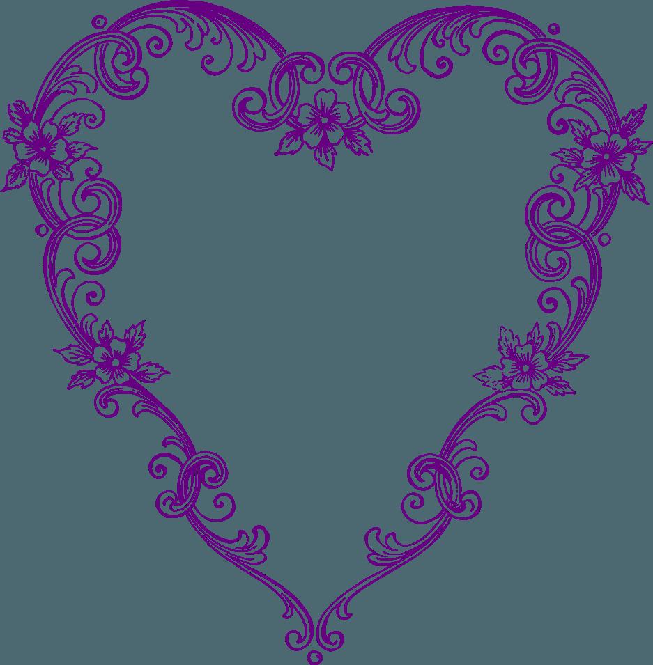937x955 Purple Heart Clip Art