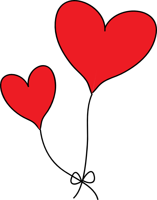 512x651 Red Hearts Clipart