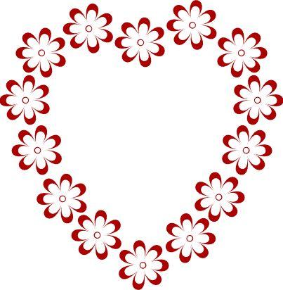403x412 Valentine Border Clip Art Free