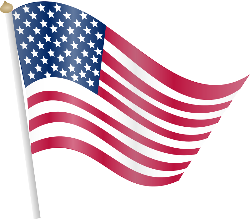 800x700 American Flag Free To Use Clip Art