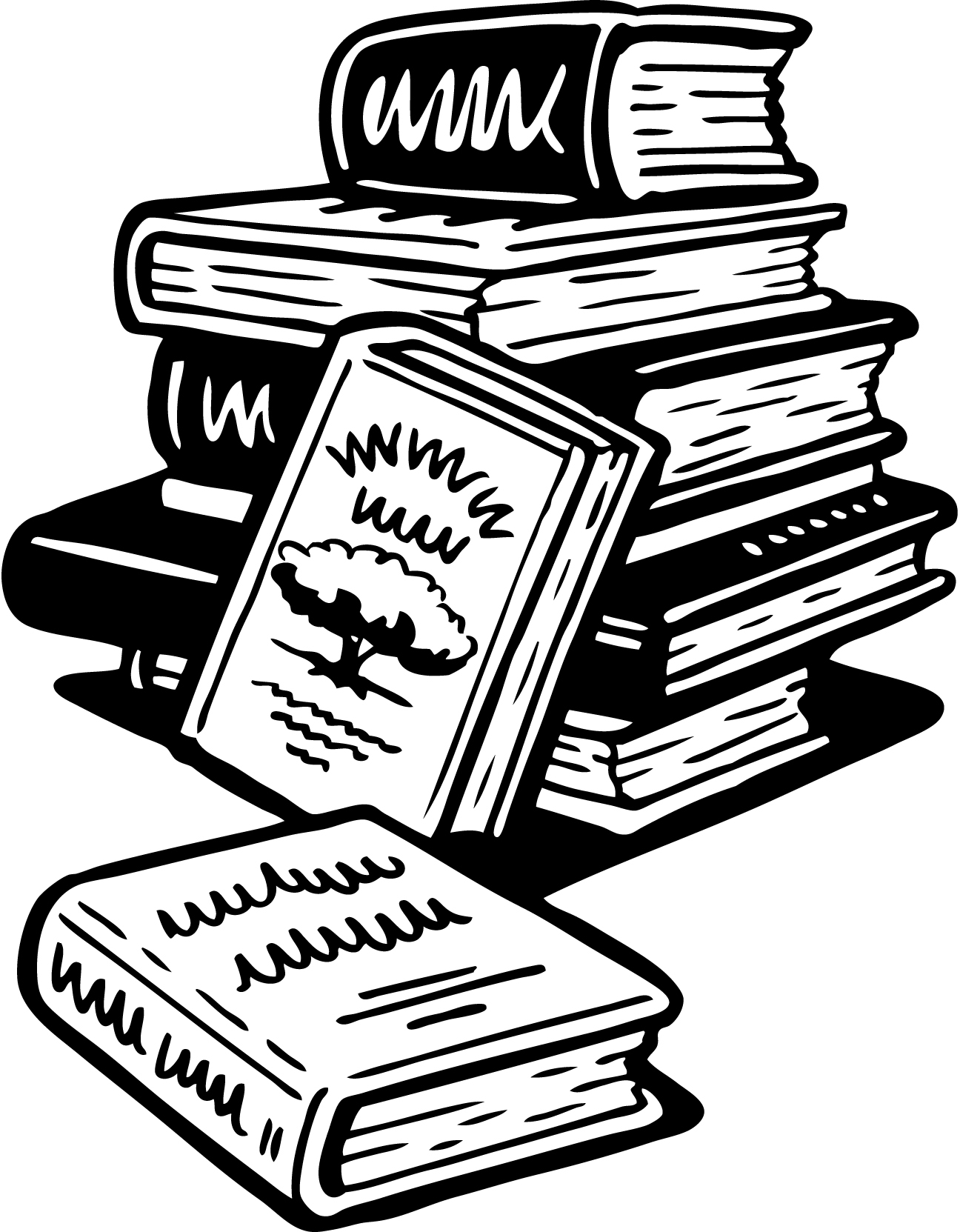 Free Images Of Books Clipart