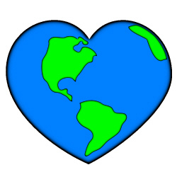 250x250 Free Digital Clipart Earth Clipart Image