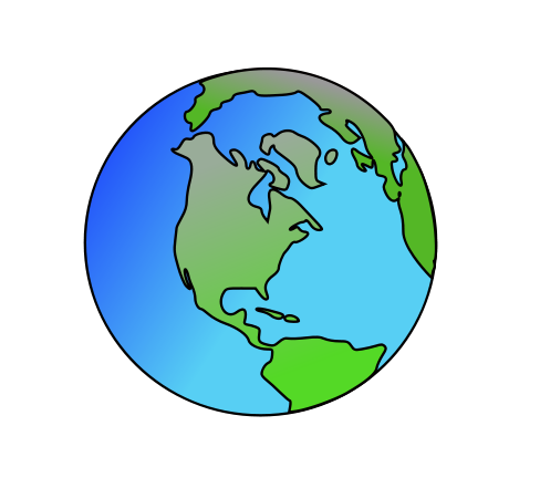 488x432 Free Planet Earth Clipart
