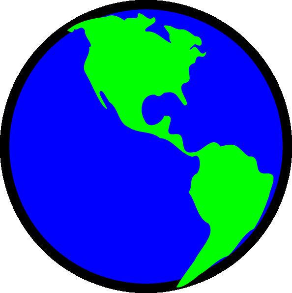 594x595 Green Earth Clipart