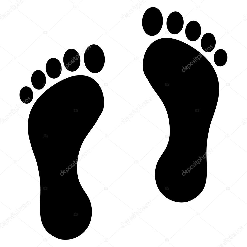 1024x1024 Footprints Stock Vectors, Royalty Free Footprints Illustrations