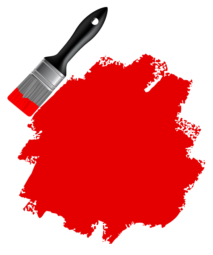 690x828 Paint Brush Free Vector 123freevectors