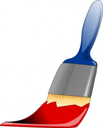 341x425 Paintbrush Paint Brush Clip Art Free Vector In Open Office Drawing