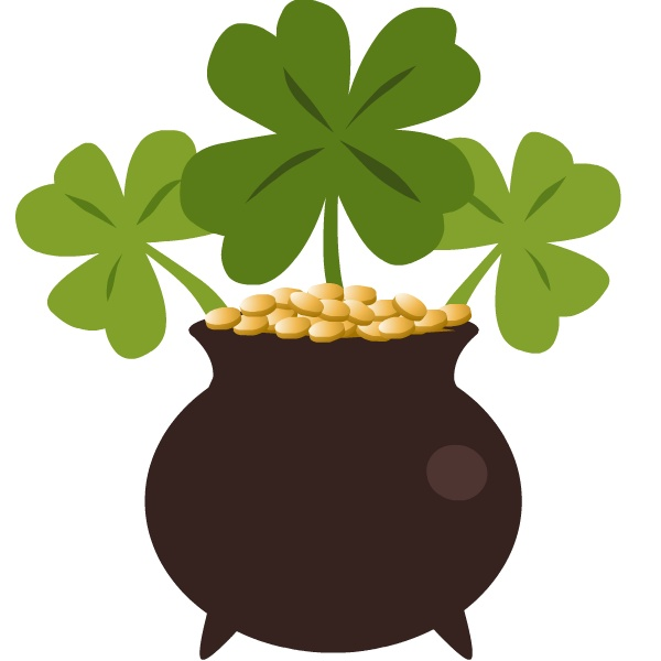 600x600 Irish Clipart Three