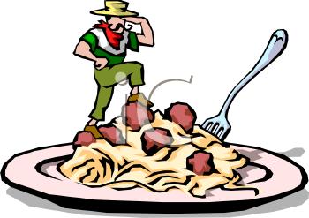 350x247 Clipart Of Italian Food