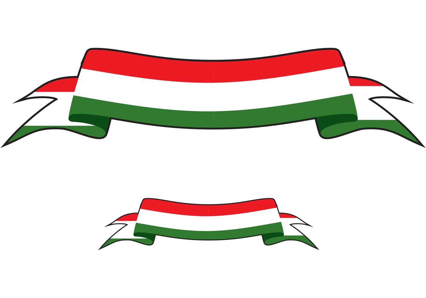 1400x980 Free Italian Banner Vector