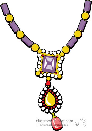 351x500 Necklace Clipart Jewelry
